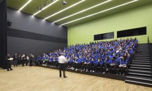 School assembly.