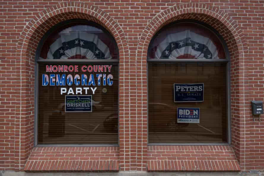 The Monroe county Democratic Party headquarters.