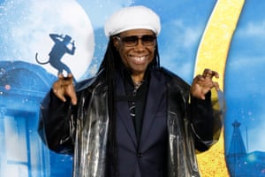 Nile Rodgers attends the world premiere.