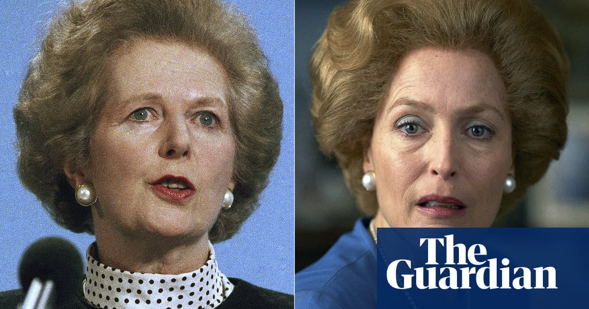'A bit scary': Gillian Anderson's unnerving portrayal of Thatcher in T... image