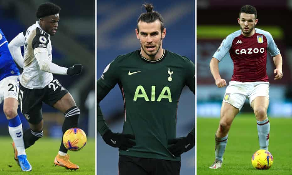 Josh Maja; Gareth Bale; John McGinn.