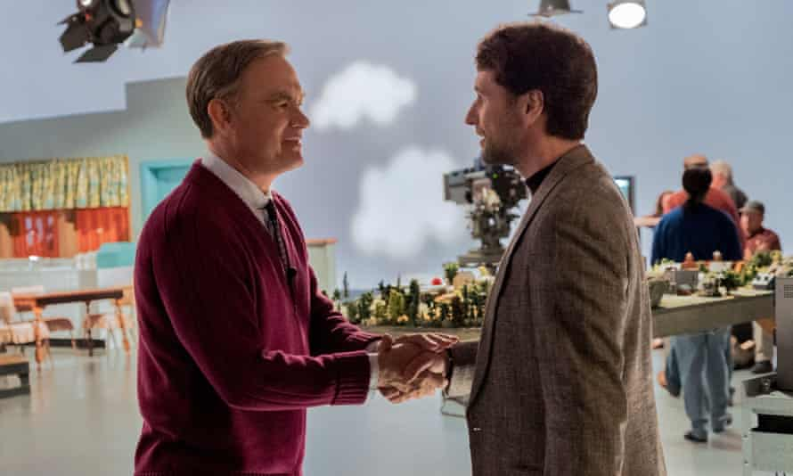 Matthew Rhys with Tom Hanks in A Beautiful Day in the Neighborhood.