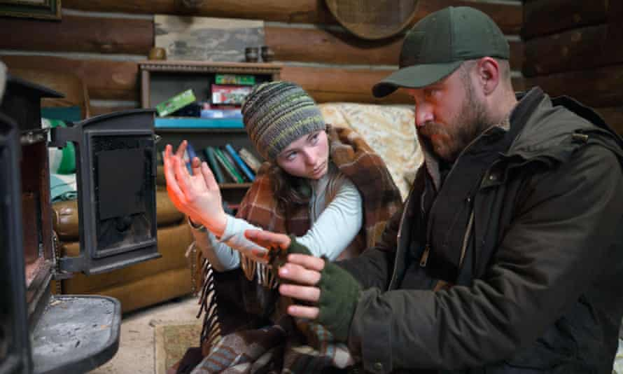 Thomasin Harcourt McKenzie and Ben Foster in Debra Granik's Leave No Trace.