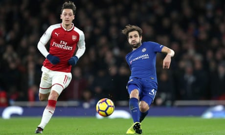 Effortless presence of Cesc Fàbregas makes his mark at Arsenal once again | Barney Ronay