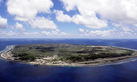 A 12-year-old girl on Nauru, who previously tried to set herself on fire, is refusing to eat and drink.