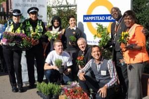 Hampstead Heath overland station, north London