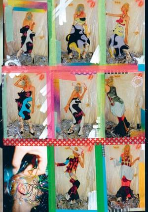 Freeze frame: Matty Bovan's designs.