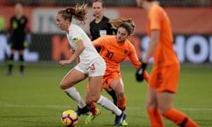 Lia Wälti, here playing for Switzerland.