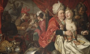 Detail from the painting Vanity by Jacob Waben