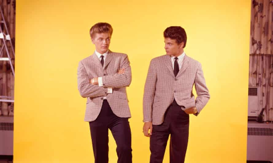 'They started it all': the Everly Brothers in 1959.