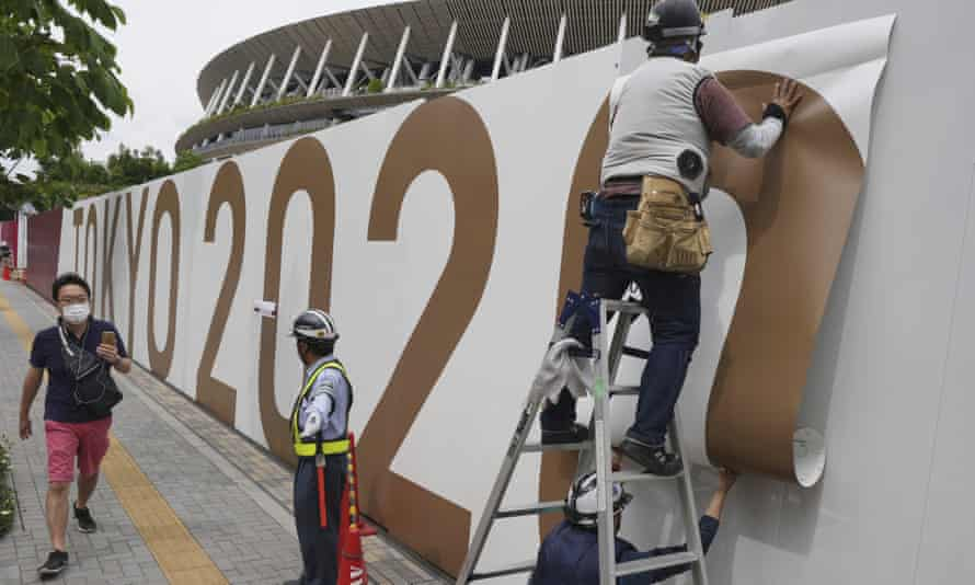 Tokyo and six other regions will come under a so-called quasi-state of emergency until 11 July, less than two weeks before the Olympics opening ceremony.