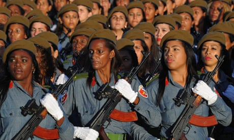 Cuba marks anniversary of revolution with show of military strength