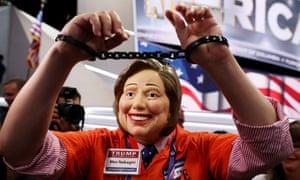 Hillary Clinton prison costume