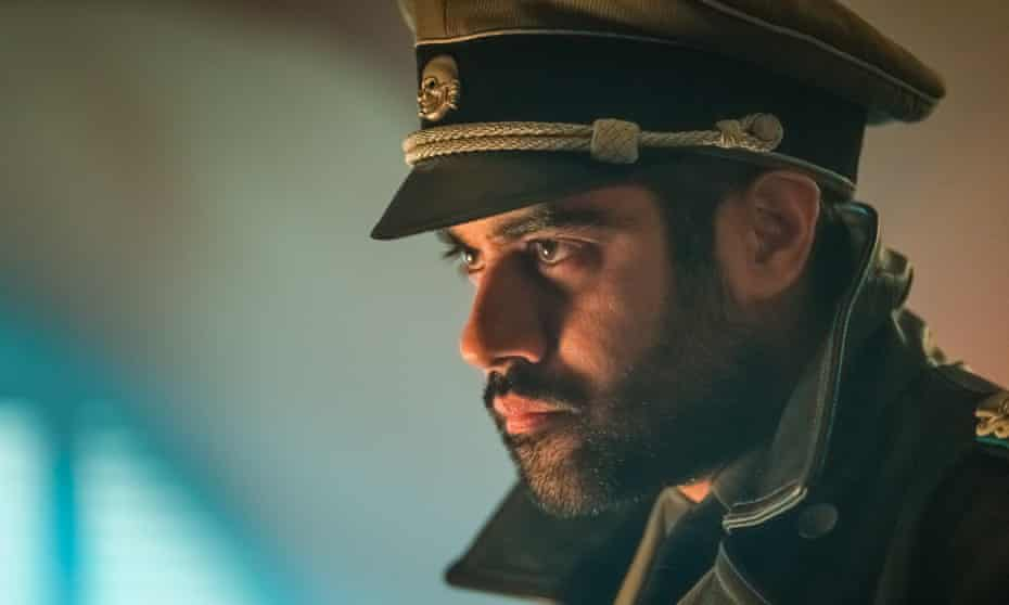Sacha Dhawan as a Nazi soldier in Doctor Who.