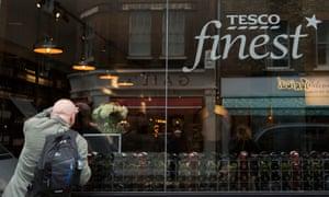 Come on in: Tesco's wine bar in Soho, selling it's best wines.