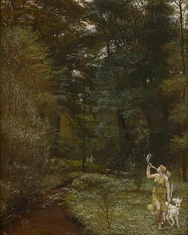 Walter Crane's Diana (1881).