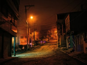 Soacha, South of Bogotá at night