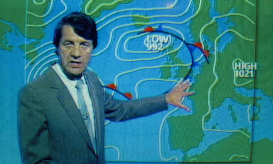 A 1980s British weather forecast.