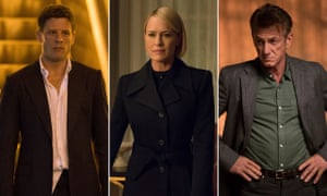 James Norton (McMafia), Robin Wright (House of Cards) and Sean Penn (The First)