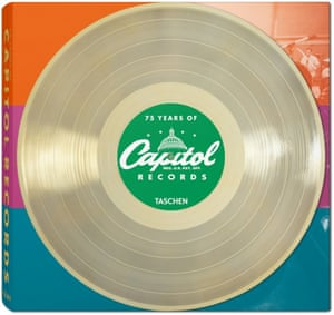 The cover for 75 years of Capitol Records