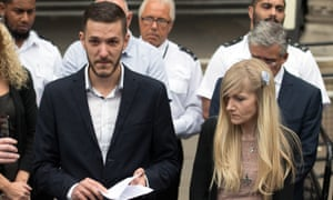 The parents of Charlie Gard