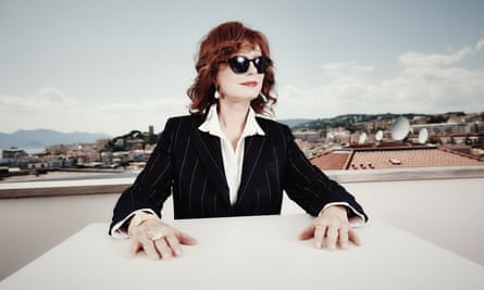 'From the beginning I was not really sold as pretty, which has probably allowed me to survive as long as I have' … Sarandon.