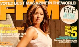 Men's magazine FHM closed last year.