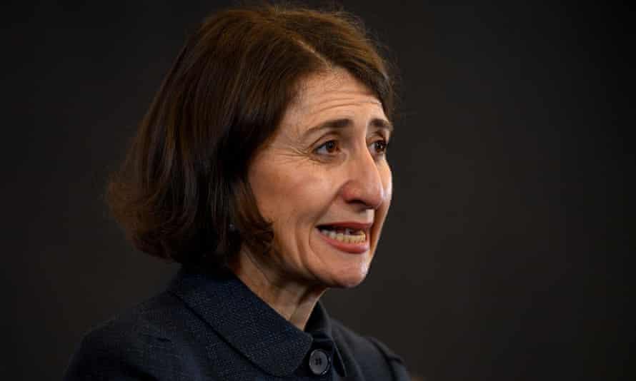 NSW premier Gladys Berejiklian at a press conference