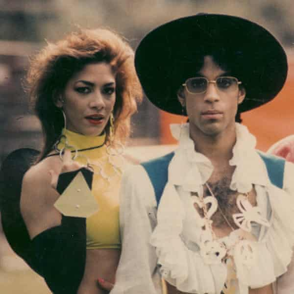 Sheila E with Prince in 1988