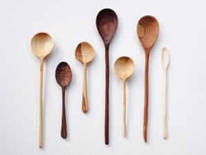 Carved spoons, by Abigail Booth and Max Bainbridge