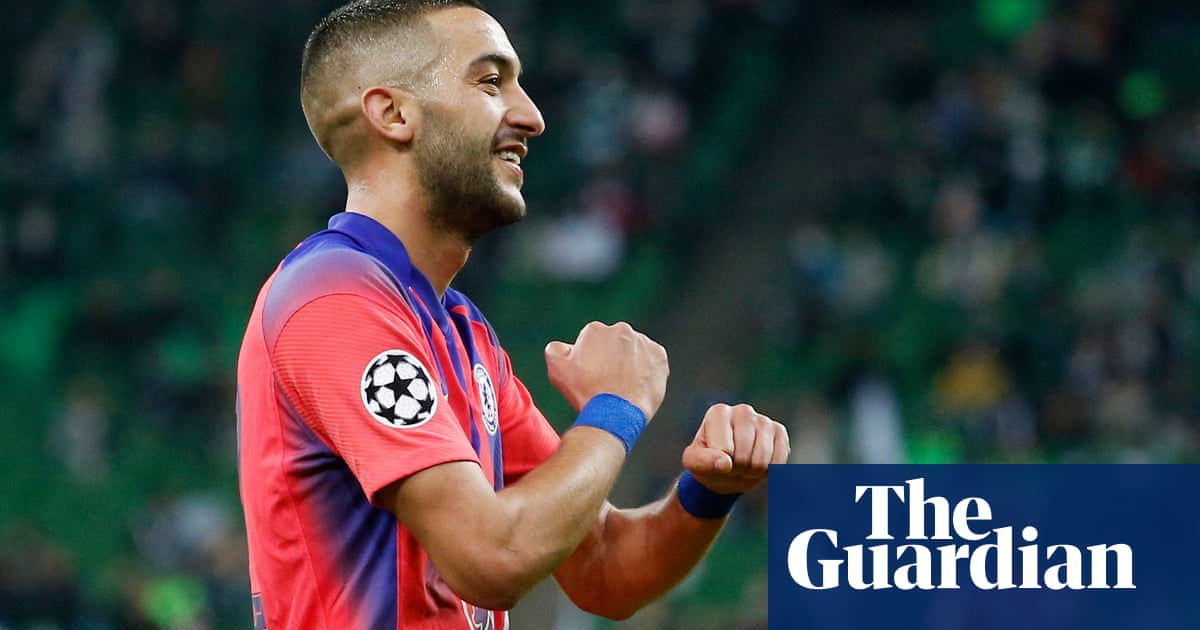 Hakim Ziyech stars as Chelsea crush Krasnodar in Champions League