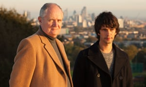 Jim Broadbent and Ben Whishaw in London Spy