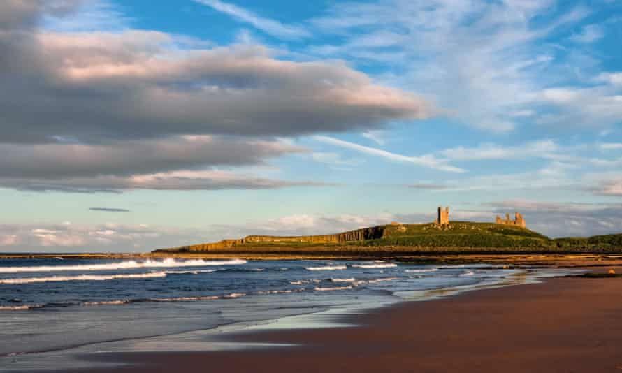 'There's a brooding beauty to Craster…' Dunstanburgh Castle.