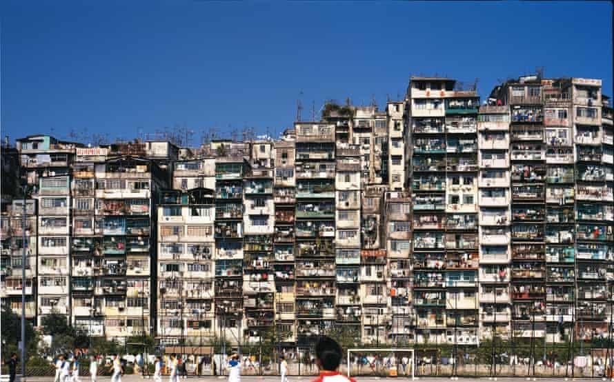 The Walled City, Kowloon, Hong Kong, China - slum housing (demolished 1992)