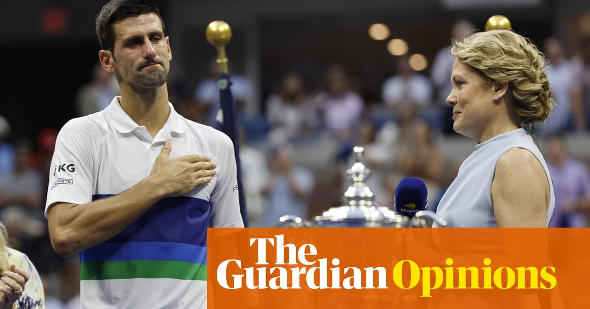 Novak Djokovic lost his bid for history but may have finally won the hearts of fans