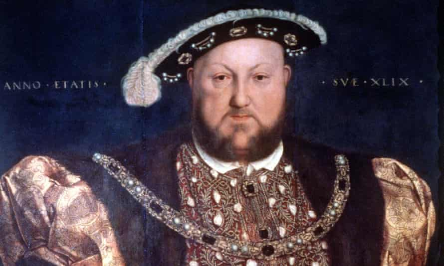 Portrait of Henry VIII by Holbein