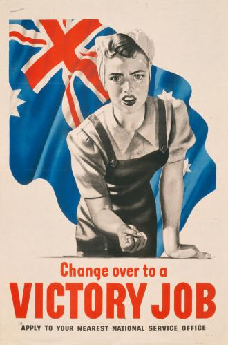 Change over to a victory job – 1943.
