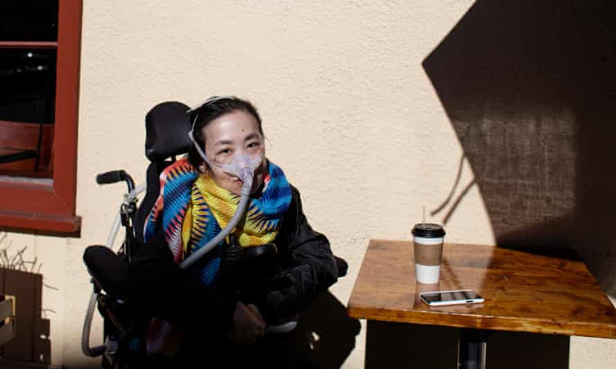 Alice Wong, a disabled activist in San Francisco, worries about the consequences the pandemic will have on disabled and chronically ill Californians.