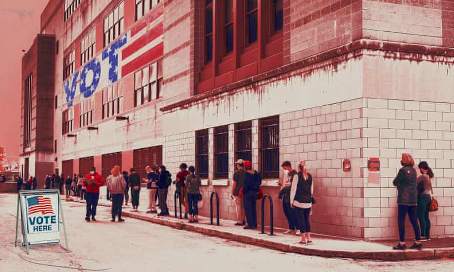 Anecdotes of long voting lines and voter suppression attempts calls into question the strength of America's democracy