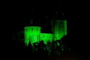 Castell Coch in Cardiff, South Wales