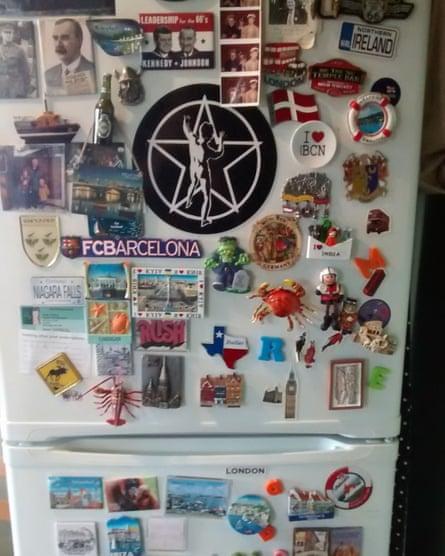 Maria Kenny's fridge