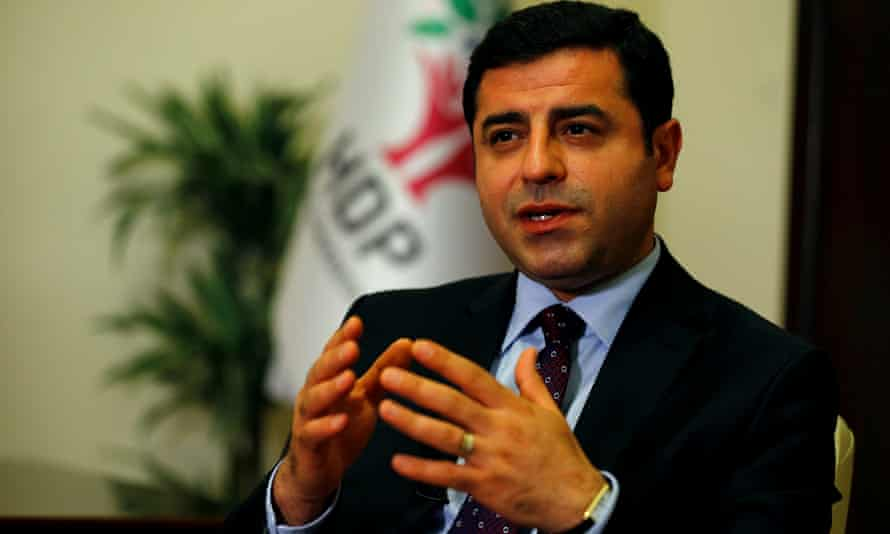 Selahattin Demirtaş, co-leader of the Peoples' Democratic party
