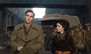 Nicholas Hoult and Lily Collins in Tolkien, which has been disowned by the late author's family and literary estate.