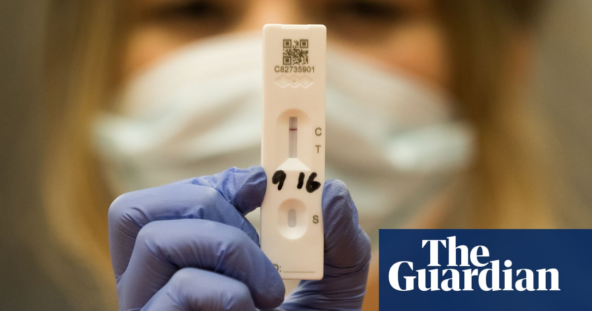 Coronavirus: plans to end free rapid tests in England 'reckless'
