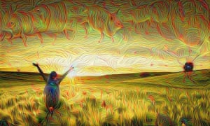 Image created by Deep Dream