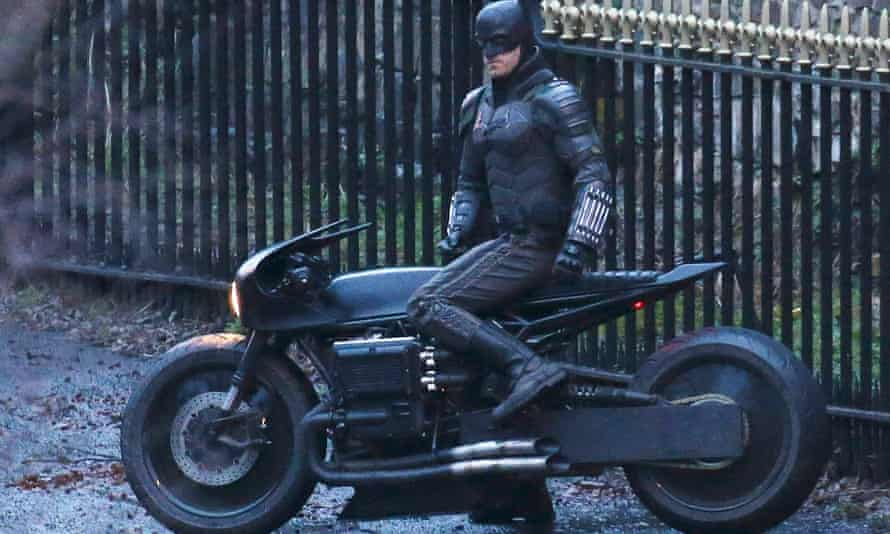 Filming for The Batman in Glasgow, February 2020.