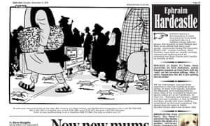 Mac's cartoon in the Daily Mail.