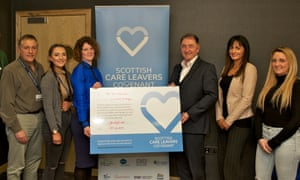 The University of Strathclyde has signed the Scottish care leavers covenant, a cross-sector initiative that aims to improve support for young people who have experience of the care system.