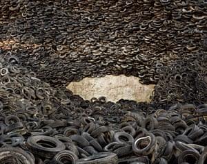 Oxford Tire Pile #4, Westley, California, 1999