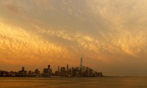 east coast sunset
